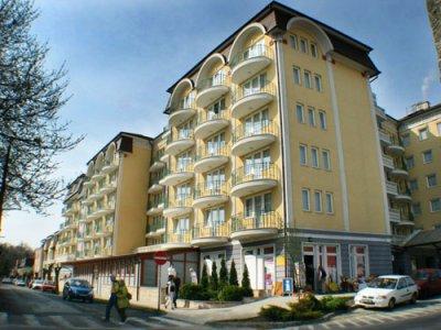 Hotel Palace Hévíz (privát apartmanok) szálláshely
