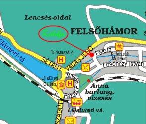 lillafüred látnivalók térkép Miskolc (Lillafüred) Zöldfa Panzió   Étterem szállás, szálláshely  lillafüred látnivalók térkép