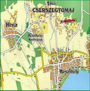 cserszegtomaj térkép Keszthely Gulyás Csárda Apartmanház szállás, szálláshely, étterem  cserszegtomaj térkép